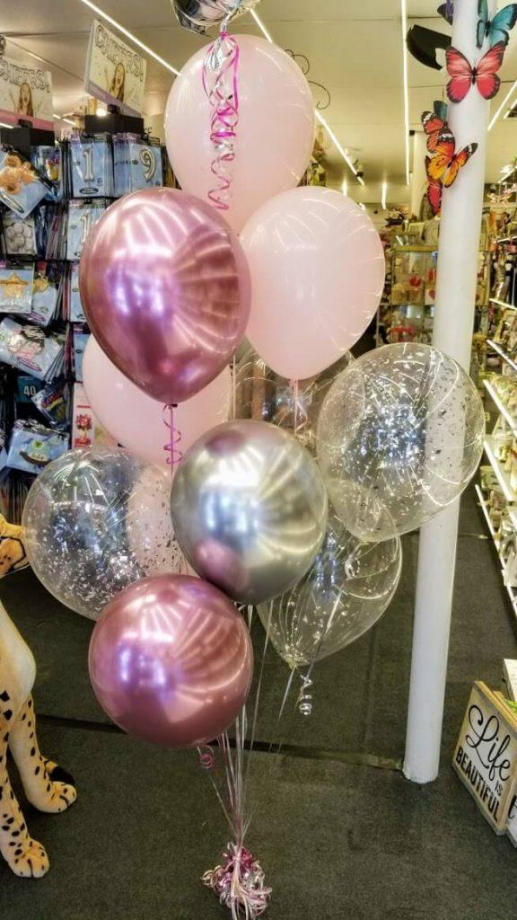 Tulle Confetti Glitter Sparkle Balloons 1