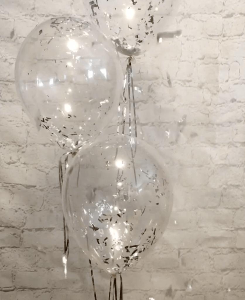 Tulle Confetti Glitter Sparkle Balloons 18