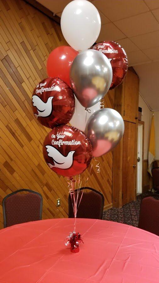 Balloons Centerpiece Bouquet Bunch Set 14
