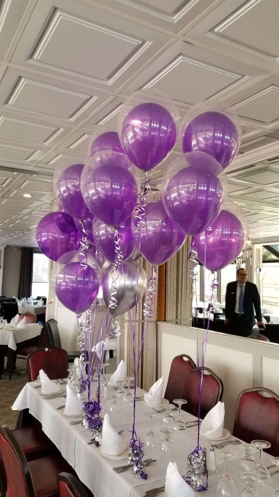Balloons Centerpiece Bouquet Bunch Set 16