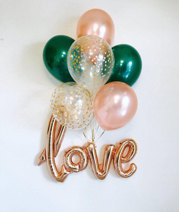 Balloons Centerpiece Bouquet Bunch Set 11