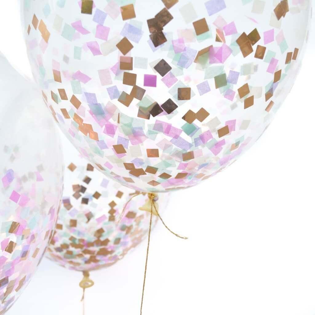 Tulle Confetti Glitter Sparkle Balloons 19
