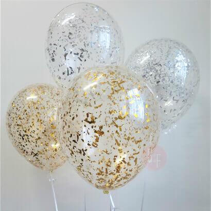 Tulle Confetti Glitter Sparkle Balloons 5