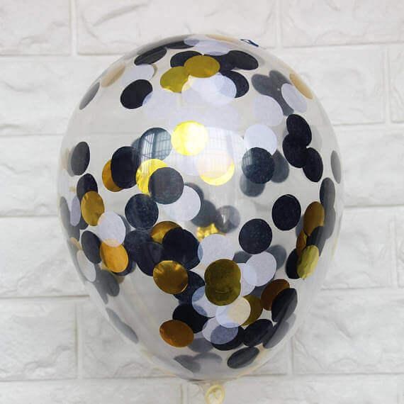 Tulle Confetti Glitter Sparkle Balloons 23