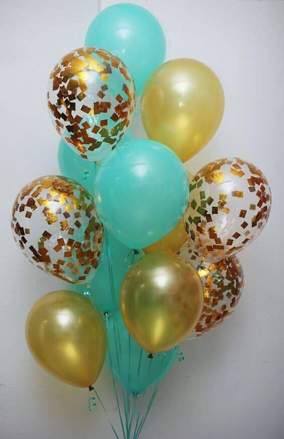 Balloons Centerpiece Bouquet Bunch Set 38