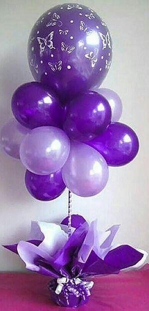 Balloons Centerpiece Bouquet Bunch Set 15