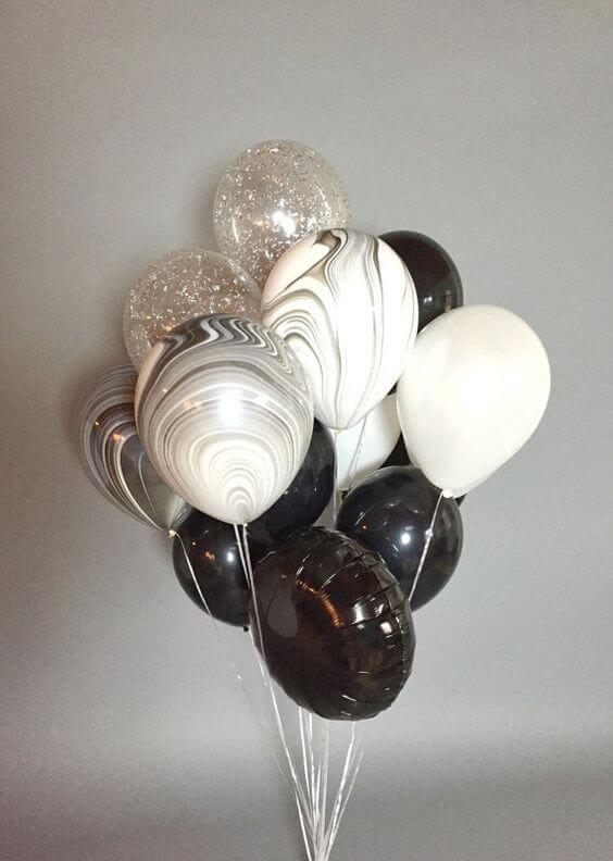 Balloons Centerpiece Bouquet Bunch Set 52