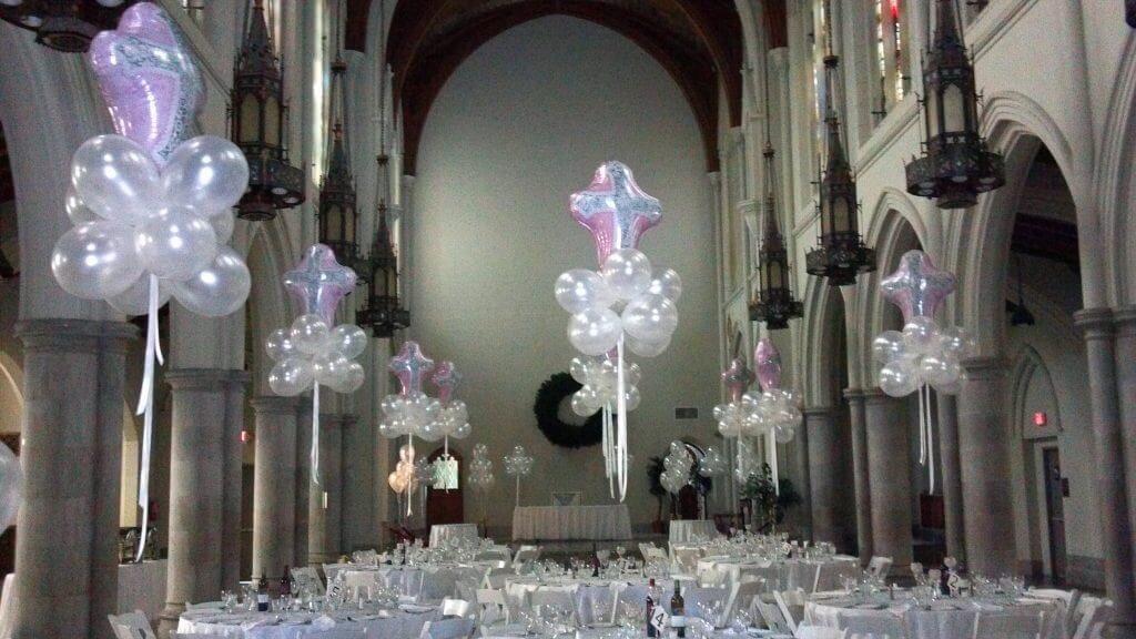 Balloons Centerpiece Bouquet Bunch Set 55