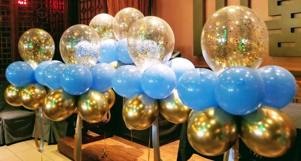 Tulle Confetti Glitter Sparkle Balloons 14