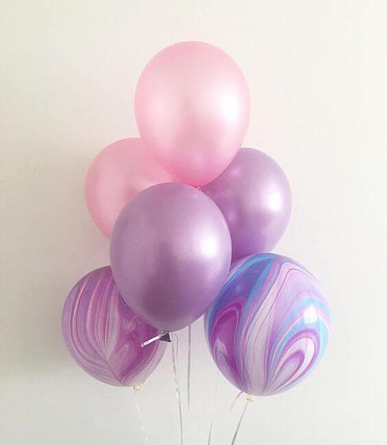 Balloons Centerpiece Bouquet Bunch Set 59
