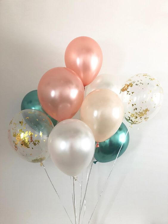 Balloons Centerpiece Bouquet Bunch Set 60