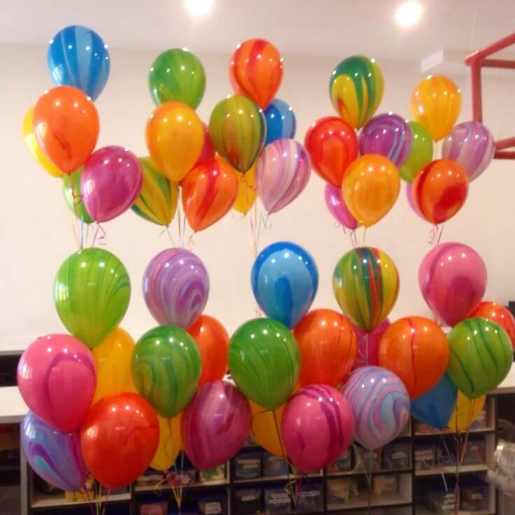 Balloons Centerpiece Bouquet Bunch Set 24