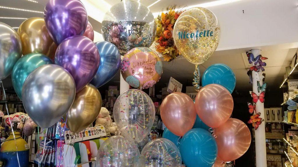 Tulle Confetti Glitter Sparkle Balloons 15