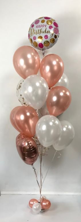 Balloons Centerpiece Bouquet Bunch Set 65