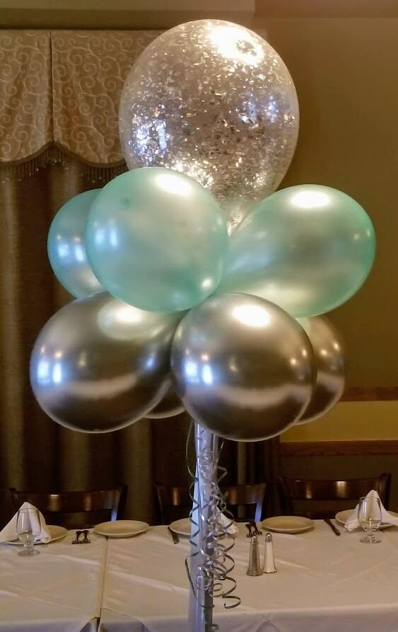 Balloons Centerpiece Bouquet Bunch Set 67
