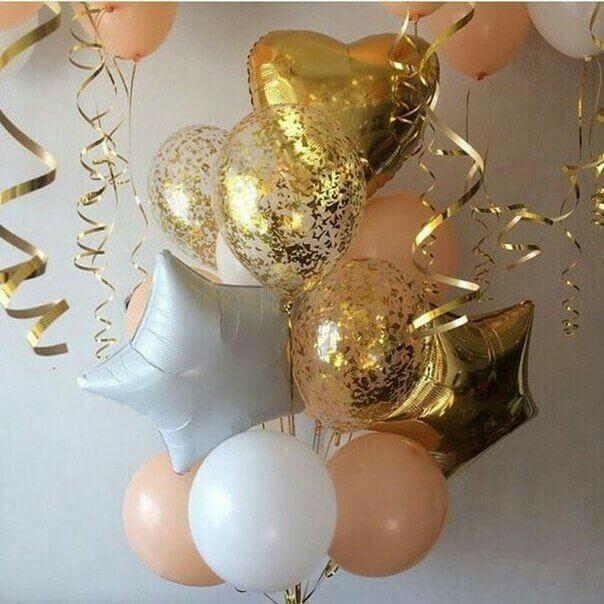 baby shower, bridal shower birthday or anniversary balloons