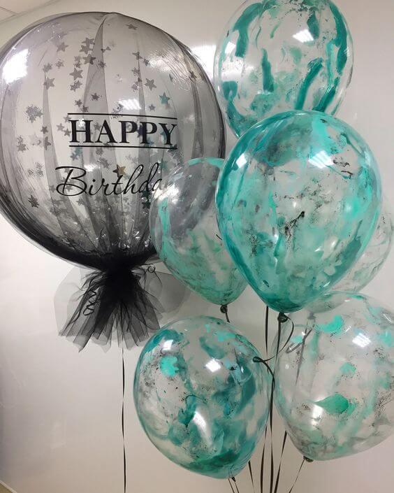 Birthday Anniversary Christening Balloons 7
