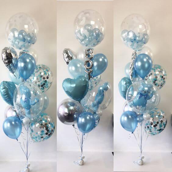 Confetti Chrome Glitter Balloons 29
