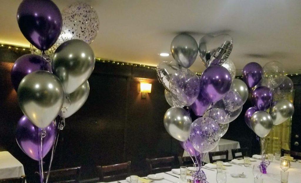 Confetti Chrome Glitter Balloons 21