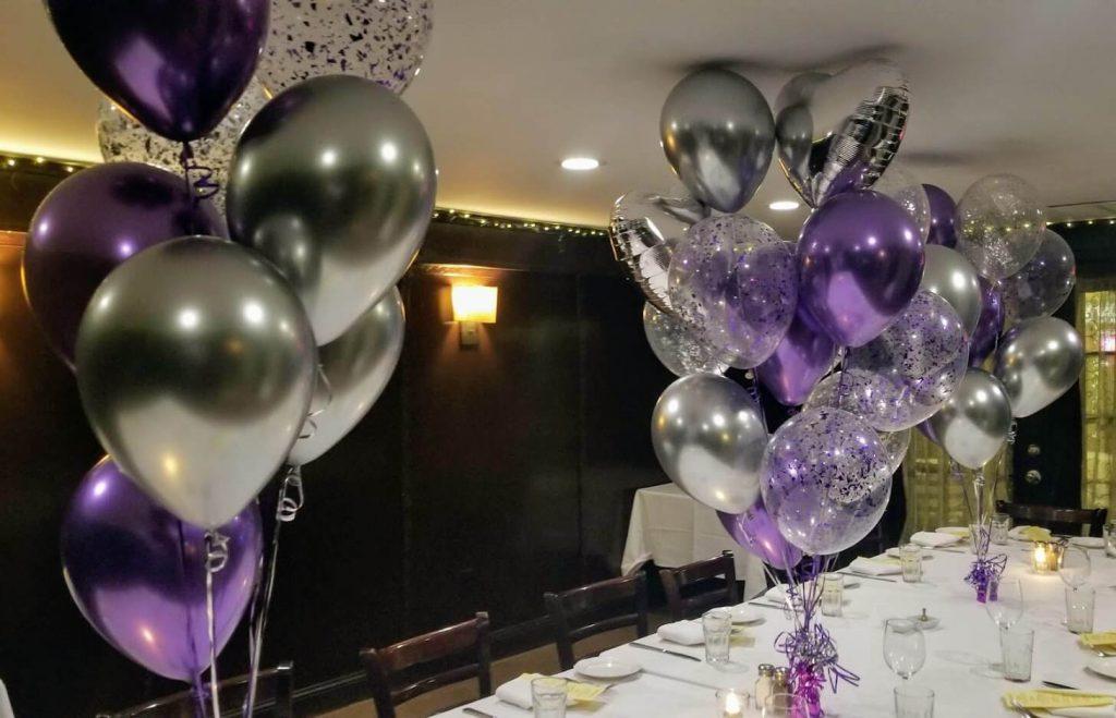 Confetti Chrome Glitter Balloons 37