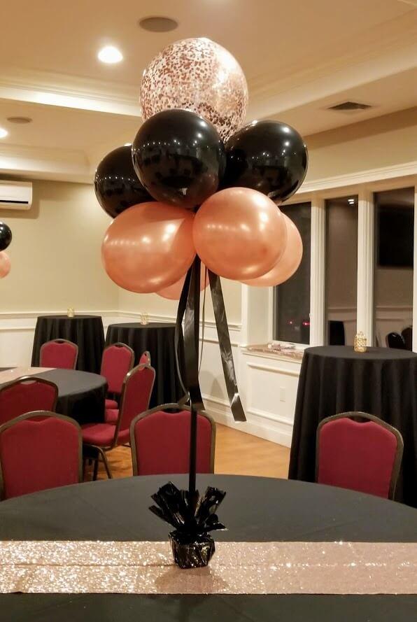Confetti Chrome Glitter Balloons 43