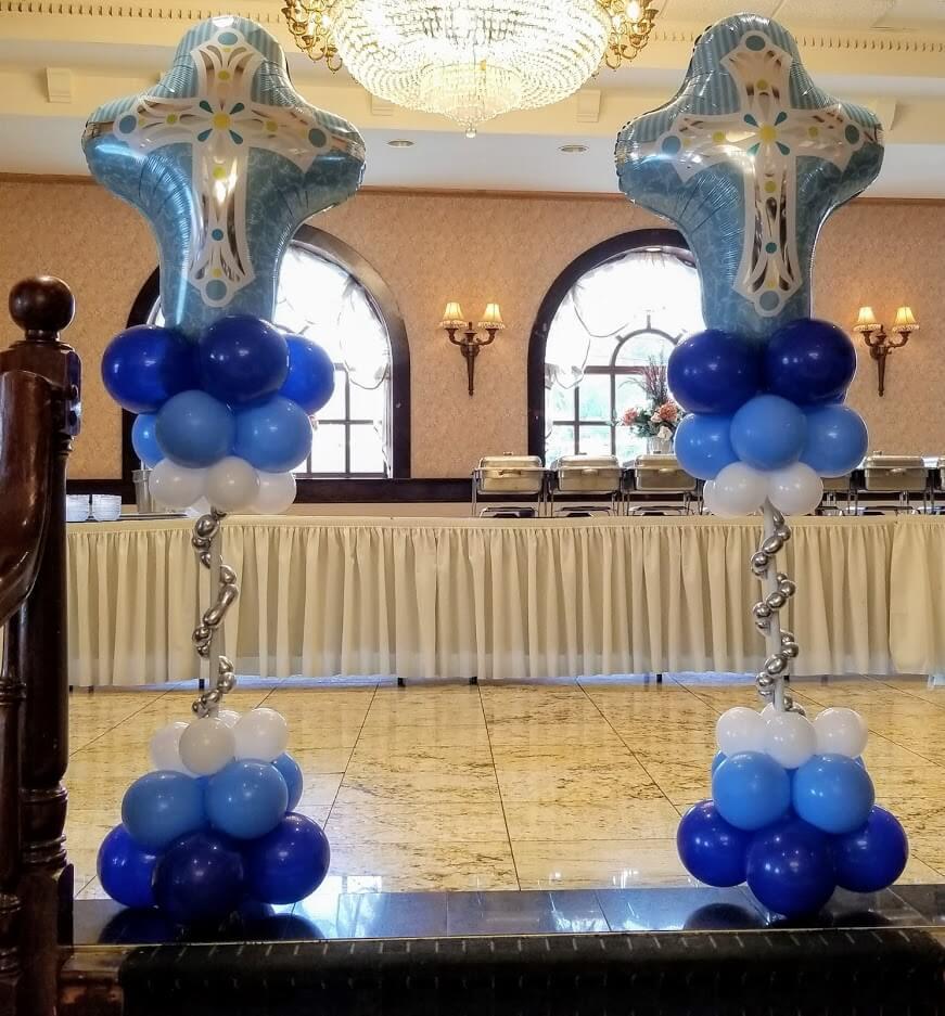 big cross balloons for communion balloons for floor