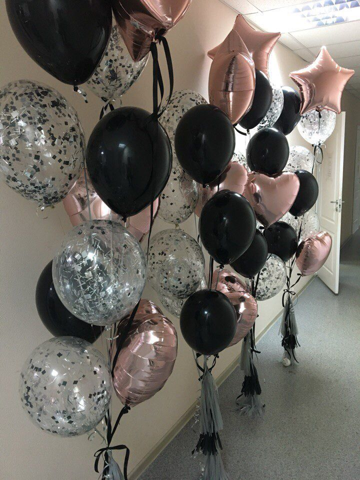 New year eve party balloons
